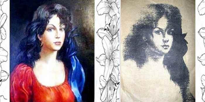 портрет цыганки приносящий счастье таро джунга