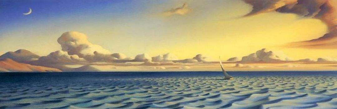 медитация на море небо