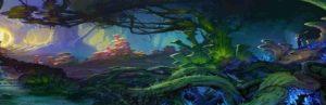 страшные деревья таро джунга